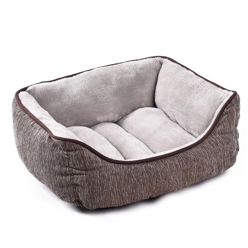 High Quality Dog Bed Luxury Pet House Winter Warm Thick Bed For Cat Puppy Kennel Super Soft Small Dog Cushion Puppy Mats(China (Mainland))