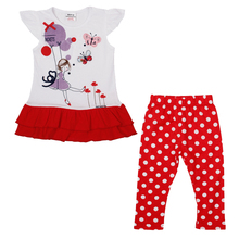 Buy nova kids child summer clothes sets embroidery animal clothing sets kids girls short sleeve nova kids retail baby clothing suits for $8.49 in AliExpress store