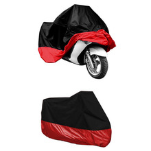 XL/XXL/XXXL Waterproof Motorcycle Storage Cover UV Protector Rain Dust Proof  Free Shipping(China (Mainland))