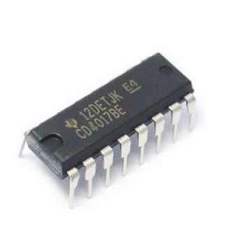 Hot sales 20Pcs CD4017 CD4017BE 4017 DIP-16 DECADE COUNTER DIVIDER IC(China (Mainland))