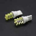 YUMSEEN 10Pcs Car Styling T10 W5W COB LED 2W Pure White Clearance Light Marker Lamps License