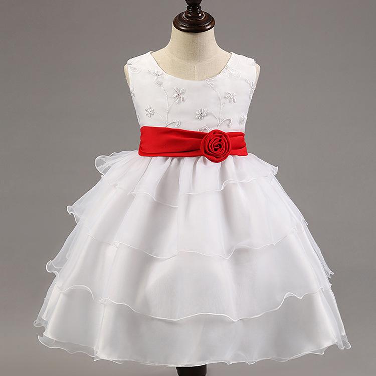 2015 Limited Cotton Vestidos Infantis Minnie Korean Version Boys Grass Hither Kidney New Girls Dress Flower Girl Princess Tutu(China (Mainland))