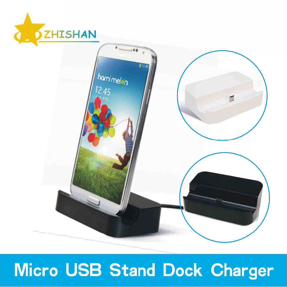 Hot! Micro USB Base Desktop Charging Stand Station Dock Charger Adapter for Samsung Galaxy S4 S5 S6 Edge Note 3 4 Mobile Phones(China (Mainland))