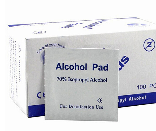 Portable Alcohol Swabs Pads Wipes Antiseptic Cleanser Cleaning Sterilization First Aid Home(China (Mainland))