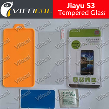 100% Original High Quality jiayu S3 Tempered Glasses Screen Film Mobile Phone Protector Accessories + Free shipping + In Stock