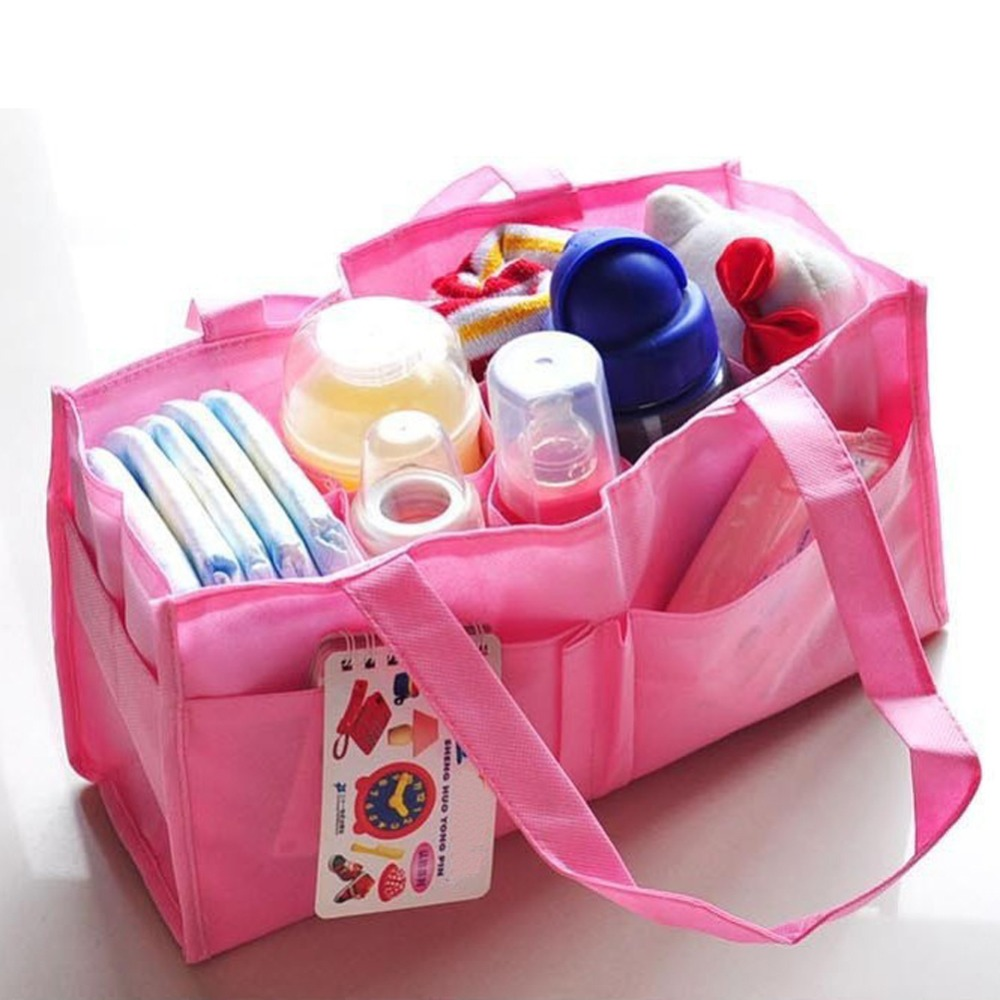 2 Colors Portable Baby Diaper Nappy Changing Bag Inserts Handbag Organizer Pouch Storage Inner Free Shipping<br><br>Aliexpress