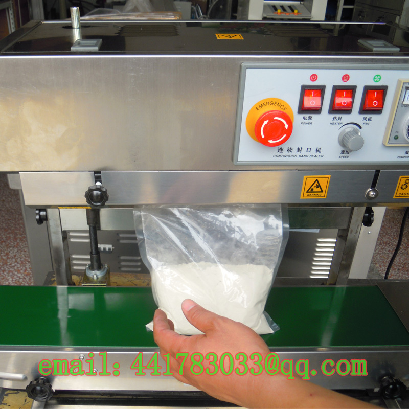 FRB-770II continuous sealing machine horizontal Stand Standing bag Liquid plastic automatic - TINKA MACHINERY HOUSE store