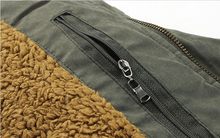 2014 new high quality thick wool liner brand men s hooded down jacket warm coat parka