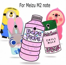 Buy 3D Cartoon ZOOTOPIA Bunny Love Potion Chill Pills Minion boy tears soft silicone case cover Meizu M2 note Meilan Note 2 for $6.69 in AliExpress store