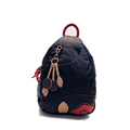 Trendy Contrast Color Backpack Women New Fashion Multi purpose Bag Designer Cheap Chest Bag Washable Leather