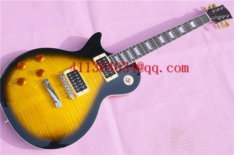 Sales! Free shipping 2016 Chinese new left-handed guitar, electric guitar, bright color, high quality, with a suitcase
