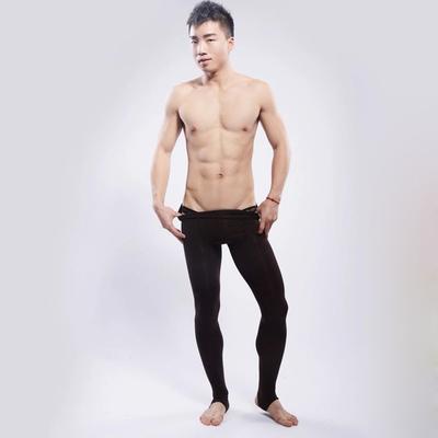 Men's stocking fall winter thick tide men pantyhose gay sexy socks men dance step foot warm leggings Male stockings pantyhose(China (Mainland))