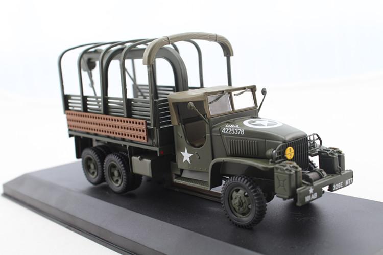 IXO 1:43 World War II US military truck truck model 1944 CCKW Battlefield maintenance vehicle model Favorites Model(China (Mainland))