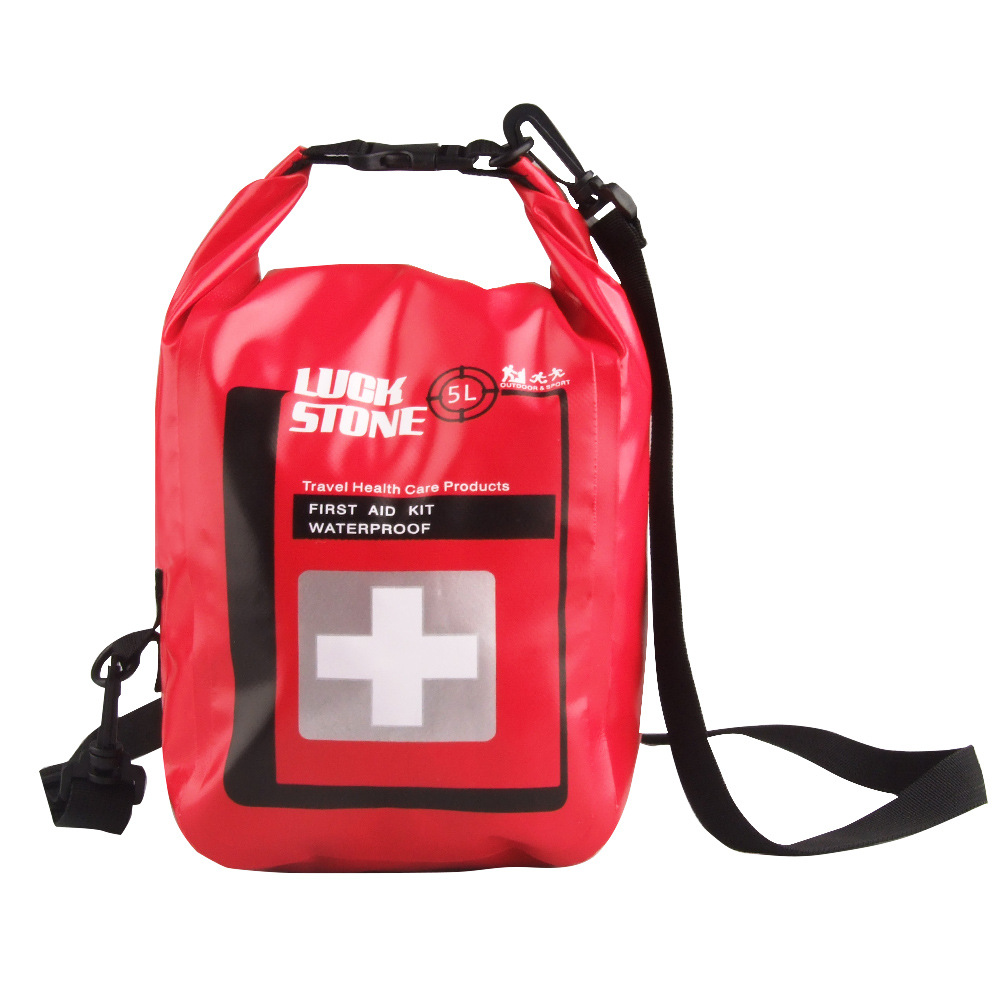 Medical Bag 5L Waterproof First Aid Bag Emergency Kits Outdoor Emergency Medical Kits Waterproof Bag, First Aid Kit Waterproof(China (Mainland))