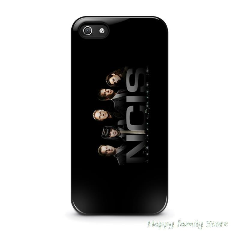 For iphone 4 4s 5 5s 5c 6 6 plus NCIS Center Of Police Procedural Investigative Service plastic phone bag case cover(China (Mainland))