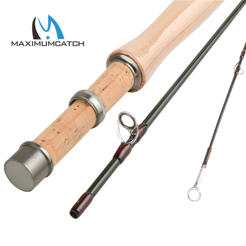 Maximumcatch skyhigh 2wt 6ft 3 piece fly fishing rod in for 3 piece fishing rod