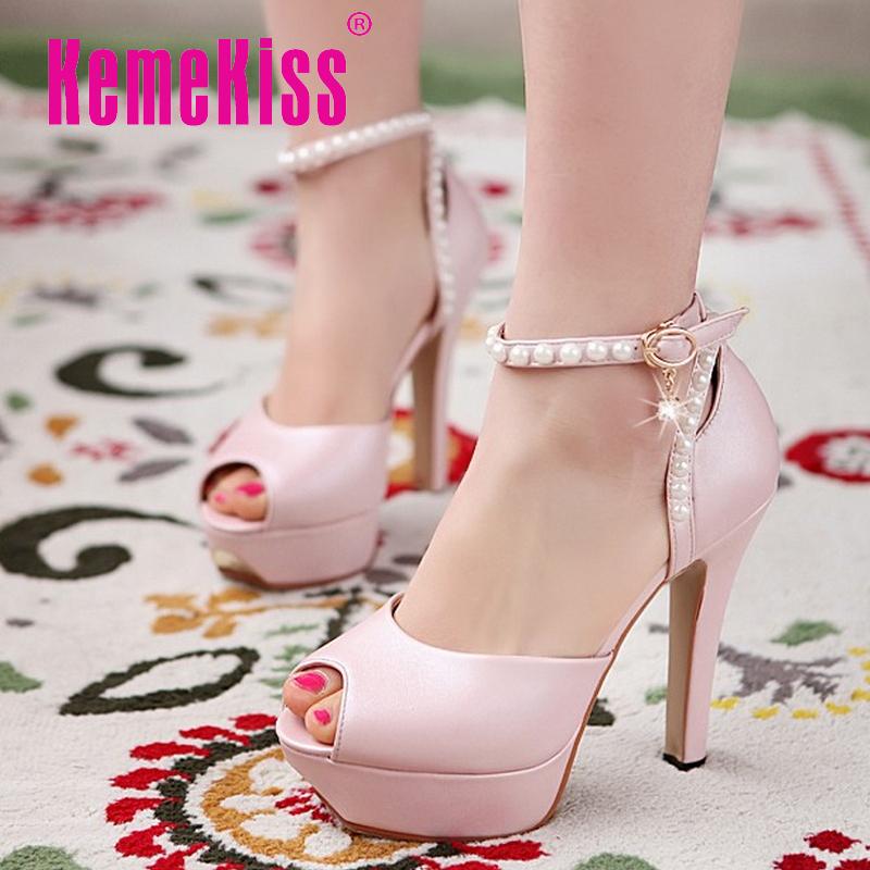 women stiletto ankle strap platform high heel sandals brand sexy fashion ladies heeled footwear heels shoes size 34-40 P17674<br><br>Aliexpress