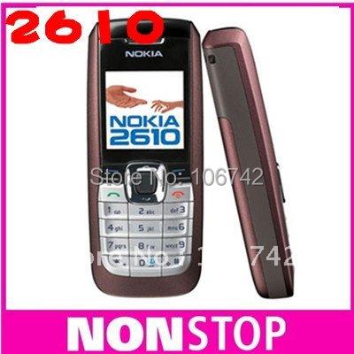 cheap original nokia 2610 mobile phone MP3 playback  free shipping
