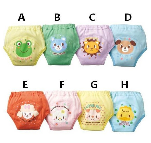 Free shipping training Pants Waterproof breathable washable cotton Baby cloth diapers Every diaper Baby shorts BC-12(China (Mainland))