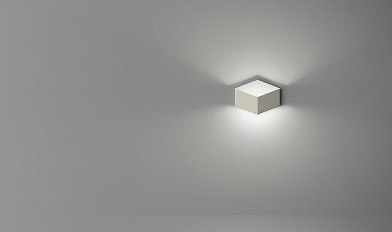 Z Flod Magic Creative LED Wall Light Aluminum Stereo Rhombus Ice Cube 3D The Box Wall Lamp Geometry Square Grid indoor lighting