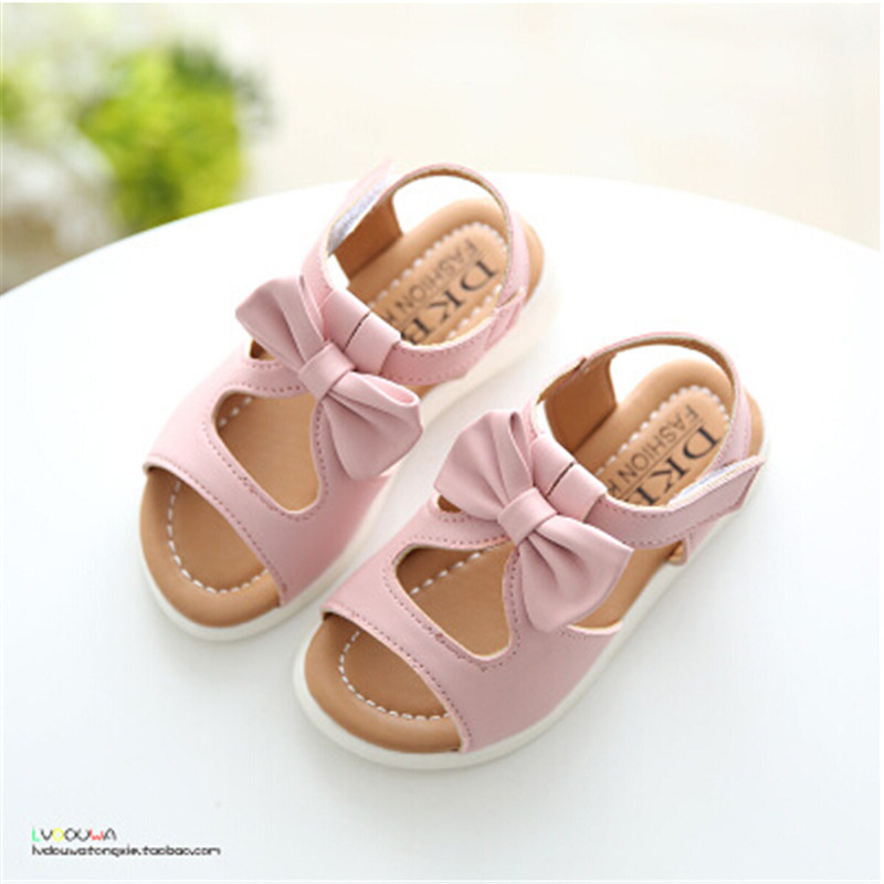 New arrival girls sandals fashion summer child shoes high quality cute girls shoes design casual kids sandals(China (Mainland))