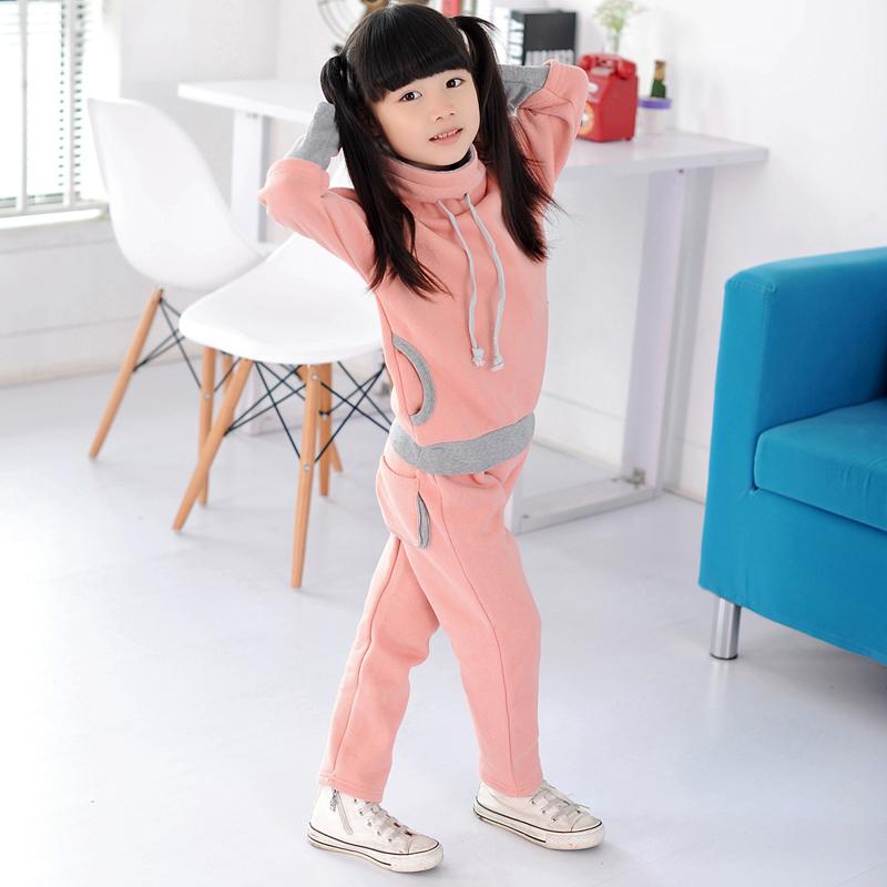 Knb brand new winter children sport suits kids fashion girls clothing sets fashion children Mla winter style fashion set