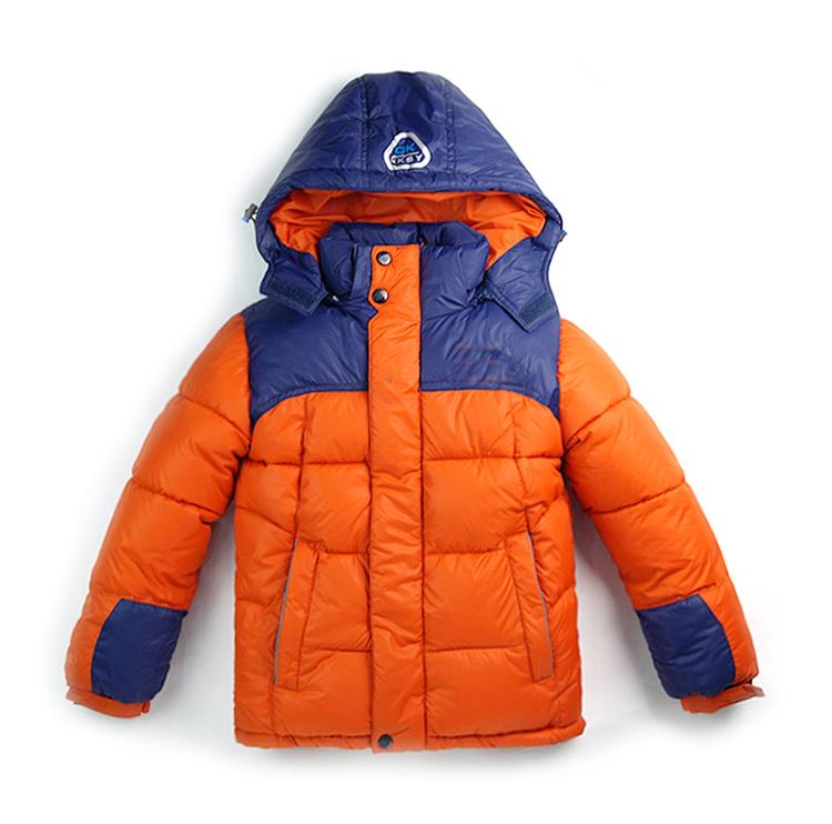 North face clothing Blusa de frio 2015 Winter Kids dress Boys Down&Parkas Patchwork Inverno Kids Winter Coat Boys Snowsuit(China (Mainland))