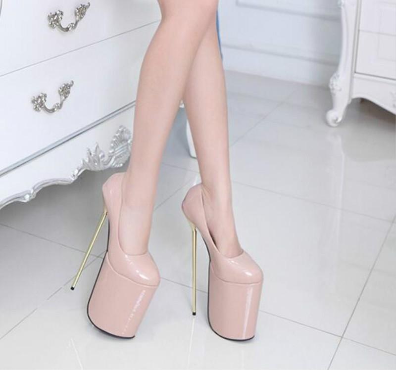 ซื้อ ซูเปอร์โมเดล23เซนติเมตรซูเปอร์โมเดลกับไนท์คลับรองเท้ากันน้ำตารางดีกับรองเท้าส้นสูง