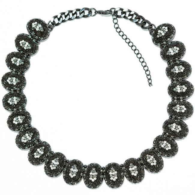 big fashion z design necklace gold high
