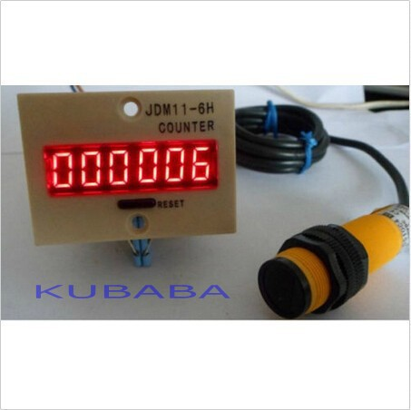 LED Digital Industrial Automatic Counter AC 220V Retail Traffic People Counting(China (Mainland))