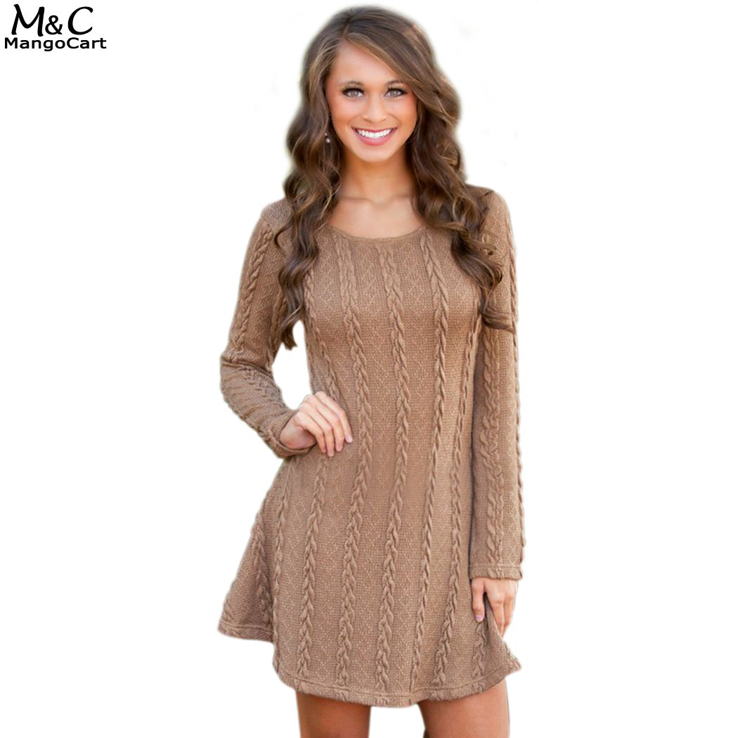 Crochet wool dresses for winter