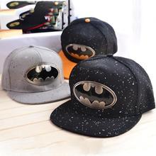 2015 Fashion Trend Batman Lovers Adjustable Snapback Hip hop Baseball Cap Unisex New Arrival