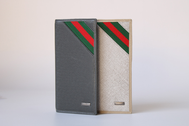 HOT Fashion Designers Brand Genuine Leather cowhide leather wallets Free Shipping(China (Mainland))