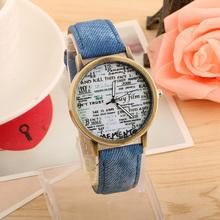 Lowest price 2016 Vintage Retro Casual Watch Lady Women Wristwatch New Fashion Leather Quartz Watch Punk Style Relogio feminino