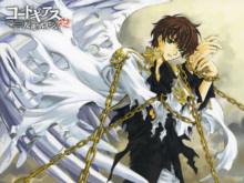 Free shipping CODE GEASS ZERO LELOUCH Japan Anime Poster printed silk wall decoration 12×18 24x36in(1450067177848)