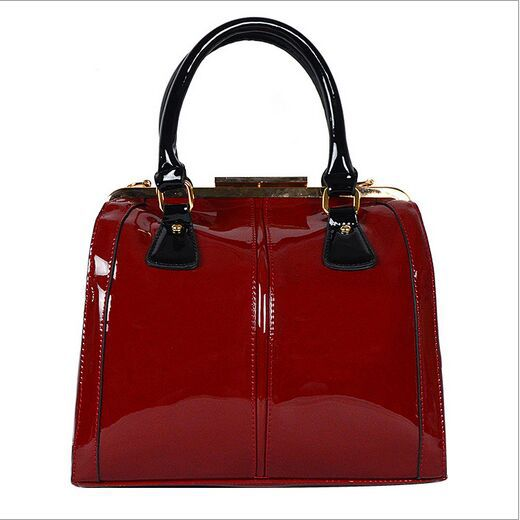 Patent Leather Women Handbags Shoulder bags 2015 New Lady Genuine Patent Leather Tote Bag Fashion Women Clutch Crossbody Bags(China (Mainland))