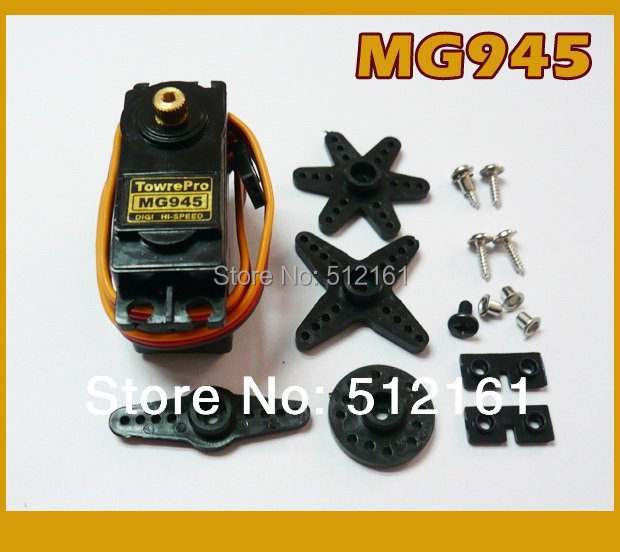 MG945 metal gear servo speed and torque from Digi servo for DIY quadcopter Automatic gear  robot joints unit