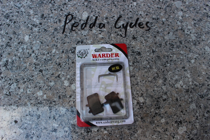 taiwan WARDER WDB-02-1-OR brake pads JUICY HYD. & BB7 MECH./PROMAX Q3 DSK-905 & HORNET DSK-907 brakes fits(China (Mainland))