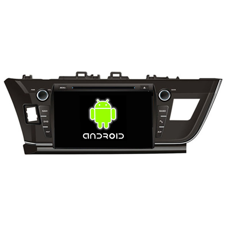 ROM 16G Quad Core 1024*600 Android 5.1.1 Fit Toyota COROLLA 2014 2015 Left or Right Driving Car DVD Player Navigation GPS Radio(China (Mainland))