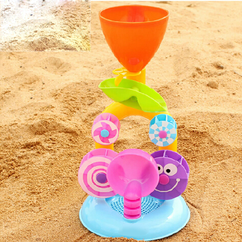 Hot Sale Educational Colorful Sand Playing Game Tool Waterwheel Beach Infant Child Baby Toys, Free Shipping & Drop Shipping(China (Mainland))