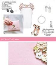 New 2015 Fashion design famous brand wallet cute diamond sweetheart metal rivets women short wallets carteiras