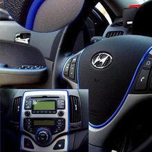 6 meters cute car decoration thread sticker indoor auto body decals interior decals parts accessories for