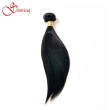 1 шт. 100% необработанные бразильский виргинский волосы прямые 100 г/шт. Brazillian прямые человеческие переплетения волос пучки