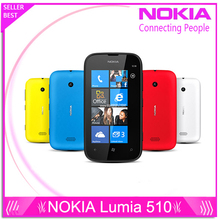 Unlocked Refurbished Nokia Lumia 510 5MP WIFI 4.0 Inch GPS Windows OS 4GB Internal Memory 256 RAM Cell phone(China (Mainland))