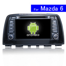 1024*600 HD 8 inch Android Car DVD Player for Mazda 6 Car Radio Navigation Bluetooth TV WIFI Touch Screen Car Stereo with GPS