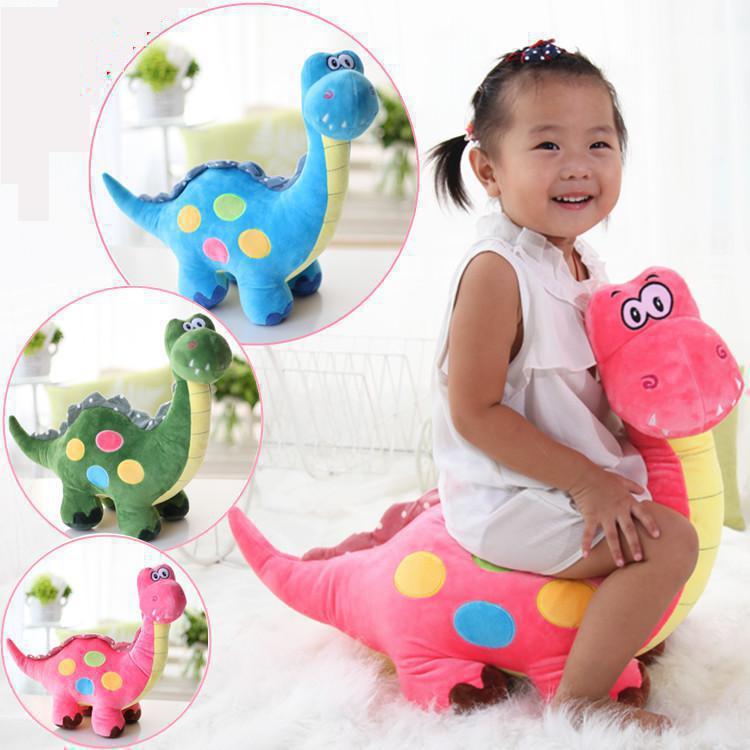Big Size 50cm Cartoon Dinosaur 3 Colors Plush Dragon Soft Doll Animal Stuffed Toy For Children(China (Mainland))