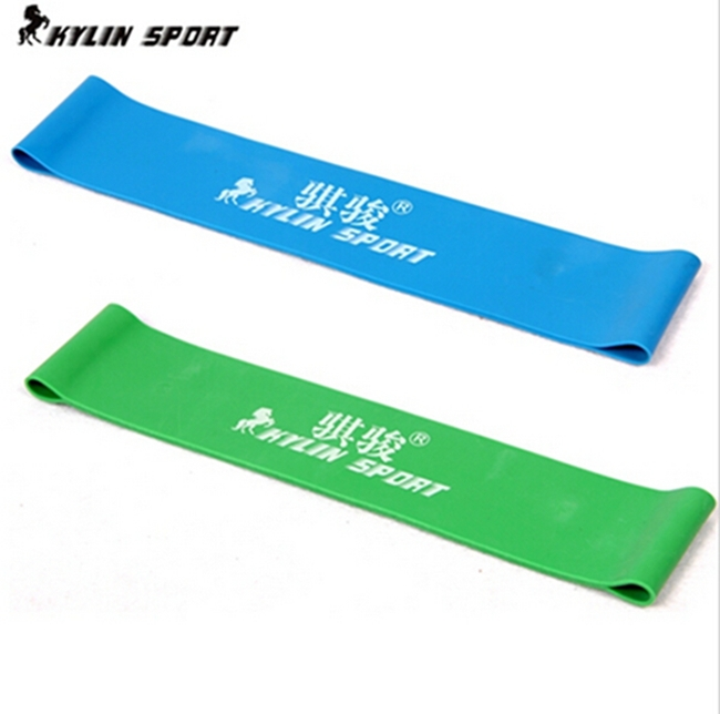Green and blue combination latex resistance bands workout - Blue and green combination ...
