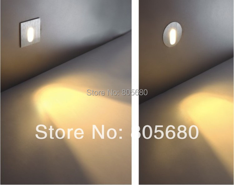 Free shipping 5pcs/lot New Aluminum LED Stair Light Wall Lamps wall corner light led step lamp 2years warranty 900-100lm(China (Mainland))