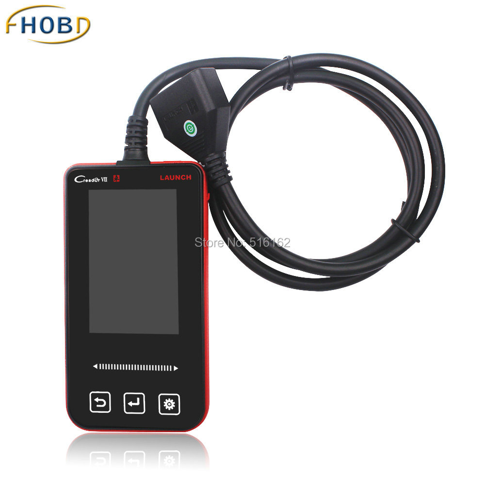 BENZ obd2 Scanner Original Launch x431 Creader VII Code Reader Diagnostic Tool for Mercedes Full System Free Shipping