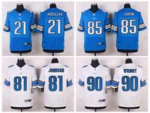 100% Stitiched,Detroit #90 Gabe Wright #85 Eric Ebron #81 Calvin Johnson #21 Ameer Abdullah Golden Tate III lion,camouflage(China (Mainland))
